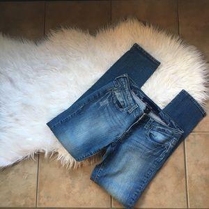 Charlotte Russe refuge blue jeans 7 skinny leg